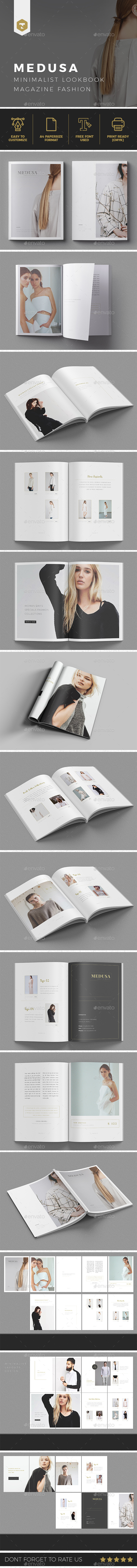 MEDUSA  |  Lookbook/Magazine Fashion - Brochures Print Templates