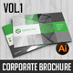 Corporate Landscape Brochure vol.1 - GraphicRiver Item for Sale