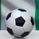 Soccer Ball with Nigeria Flag - VideoHive Item for Sale