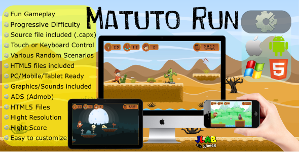 Matuto Run (CAPX - Mobile and HTML5) - CodeCanyon Item for Sale
