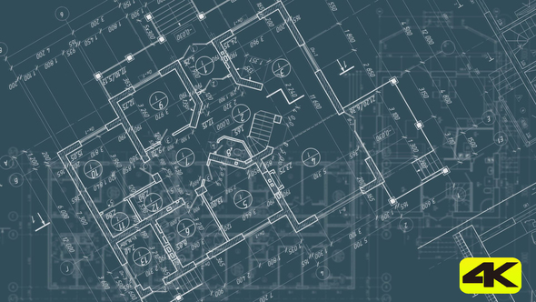 Architectural blueprints by robinzonpuzo videohive play preview video malvernweather Image collections