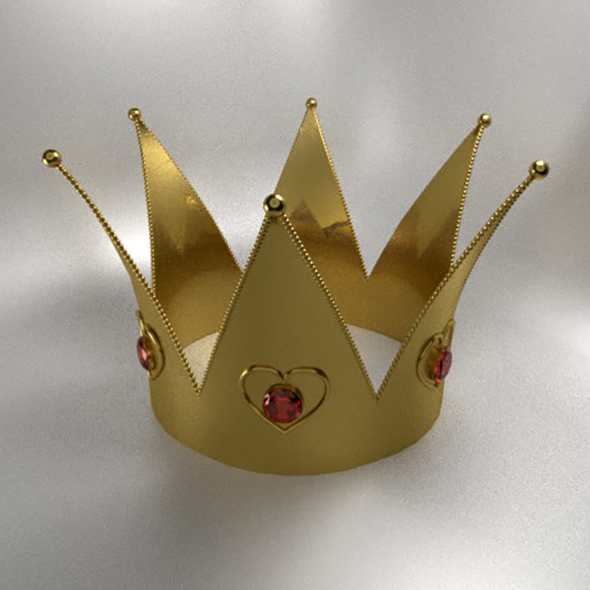 Gold crown - 3DOcean Item for Sale