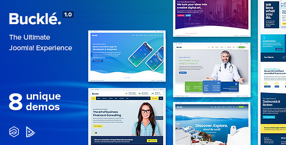 Image of Buckle - Responsive Multi-Concept Joomla Template