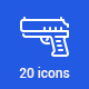 20 Military Icons - GraphicRiver Item for Sale