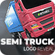 Semi Truck Logo Reveal - VideoHive Item for Sale
