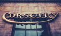 Vintage Corsetry Store Sign - PhotoDune Item for Sale