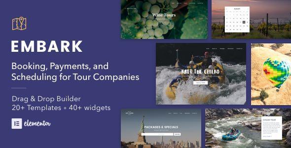 20 Travel Agency WordPress Themes 2019 5