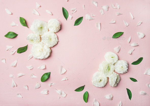Floral background with buttercup flowers - Stock Photo - Images