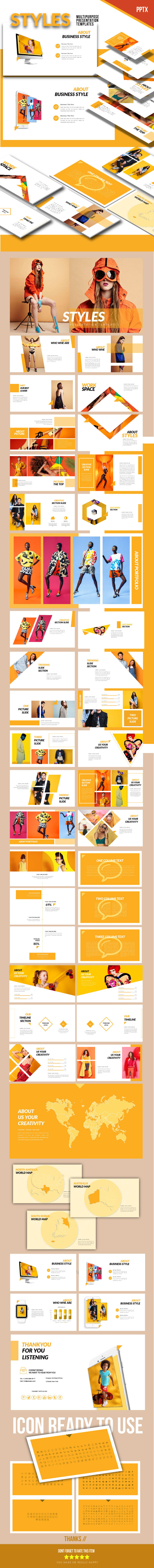 The Styles - Presentation Templates - PowerPoint Templates Presentation Templates
