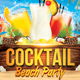 Cocktail Beach Party - GraphicRiver Item for Sale