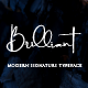 Brilliant - 3 Signature Font - GraphicRiver Item for Sale