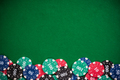 Poker casino chips border background - PhotoDune Item for Sale