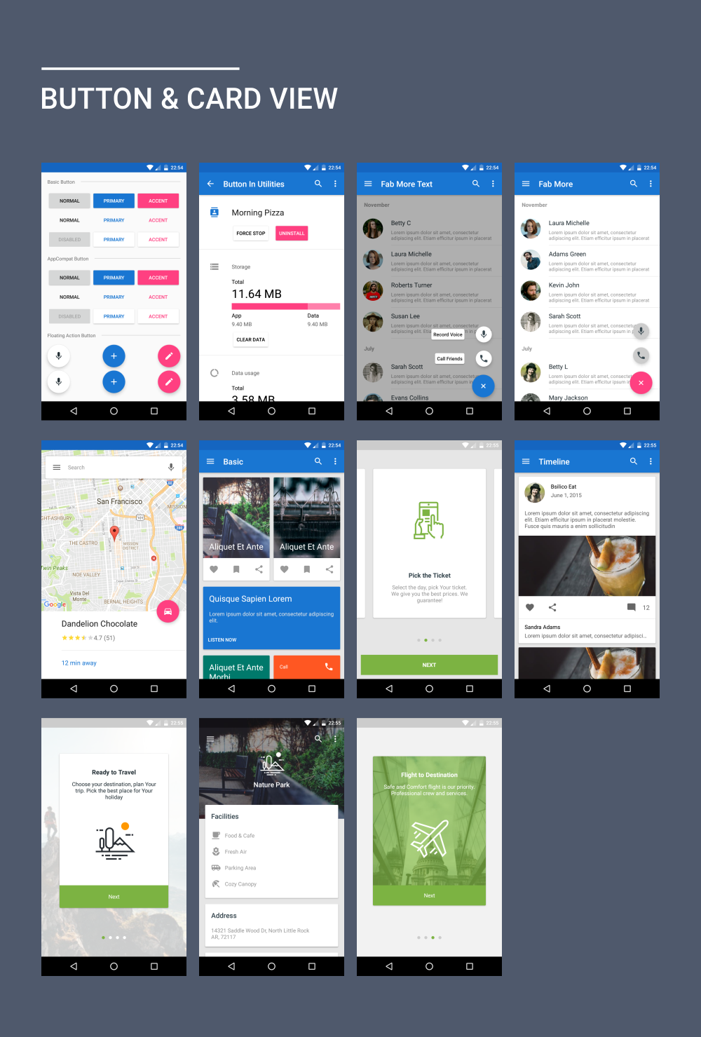 MaterialX - Android Material Design UI Components 2 0 - خرید
