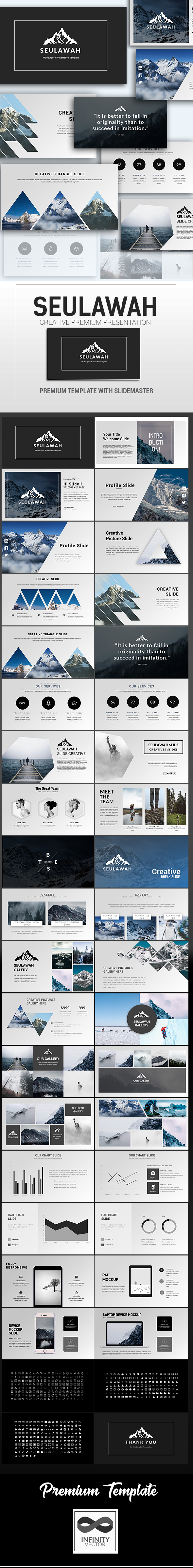 Seulawah Creative Presentation Google Slide - Google Slides Presentation Templates