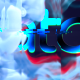 Glitch Smoke Logo Reveal - VideoHive Item for Sale