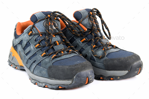 elegant touristic boots - Stock Photo - Images
