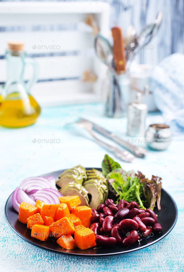 ingredients for salad - Stock Photo - Images