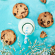 Cookie chocolate with a milk bottles. - PhotoDune Item for Sale
