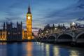 Westminster Bridge by night, London, UK - PhotoDune Item for Sale