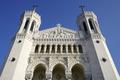 Famous basilica of Notre-Dame de Fourviere. - PhotoDune Item for Sale