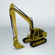 Backhoe - 3DOcean Item for Sale