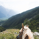 POV Horse Trekking in Switzerland - PhotoDune Item for Sale