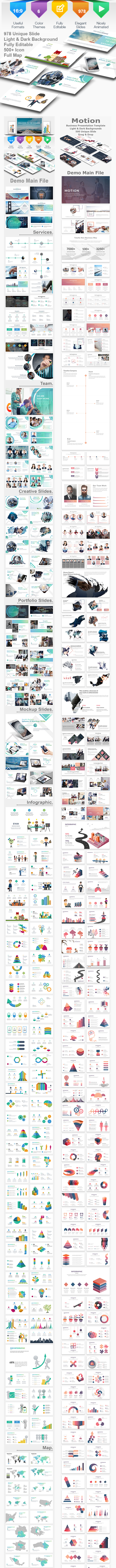 Nimm 3 - 4 in 1 Bundle Business Keynote Template - Creative Keynote Templates