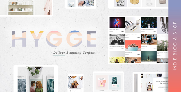 Hygge | An Independent Editorial Magazine & Blog Theme with Shop - News / Editorial Blog / Magazine