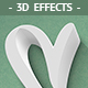 3D Effects - 8 PSD Mockups