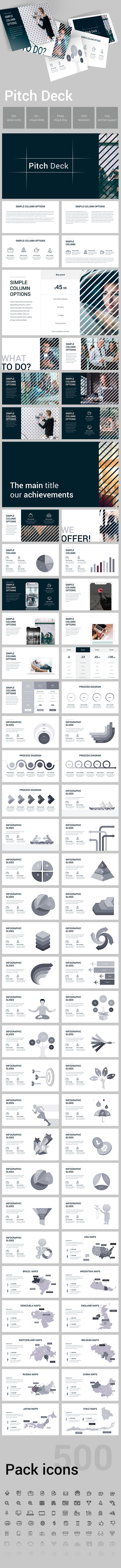 Pitch Deck Powerpoint Template - Pitch Deck PowerPoint Templates