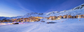 Panorama of Val Thorens by night - PhotoDune Item for Sale