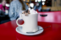 hot chocolate with marshmallows and chantilly - PhotoDune Item for Sale