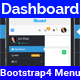 Dashboard Menu - Bootstrap4 Admin Dashboard Menu Full Responsive - CodeCanyon Item for Sale