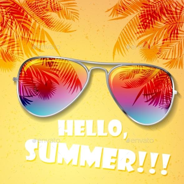 Summer Hot Background - Seasons Nature
