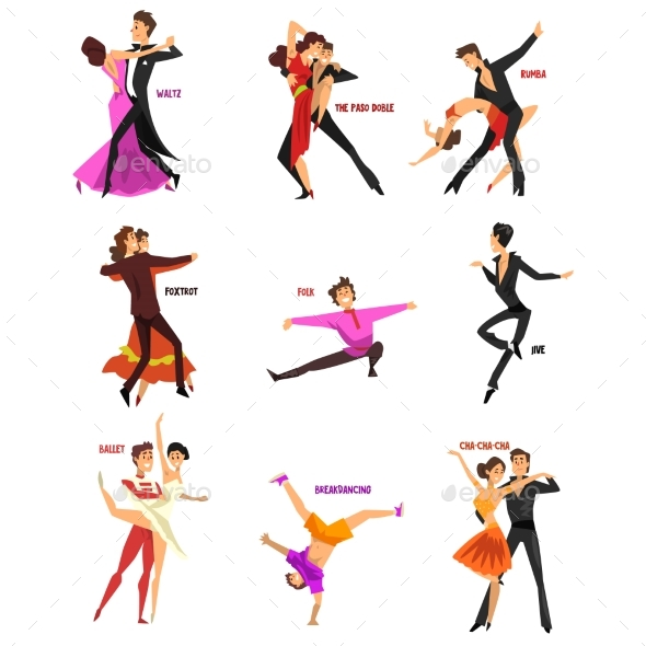 Professional Dancer People - People Characters