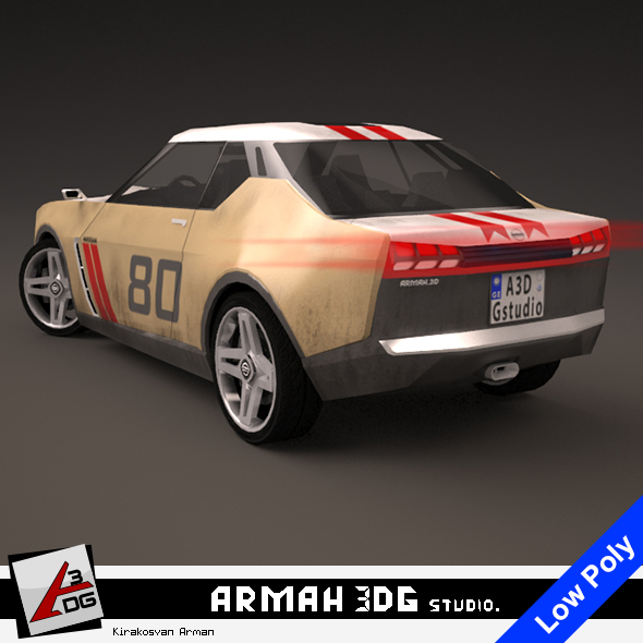 Nissan IDx Freeflow - 3DOcean Item for Sale