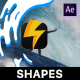 Liquid Shape Elements - VideoHive Item for Sale