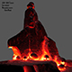 lava skull - 3DOcean Item for Sale