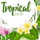 Tropical Summer Background - GraphicRiver Item for Sale