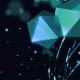Cyan Polyhedrons Widescreen - VideoHive Item for Sale