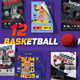 12 Basketball Flyers - Mini Bundle