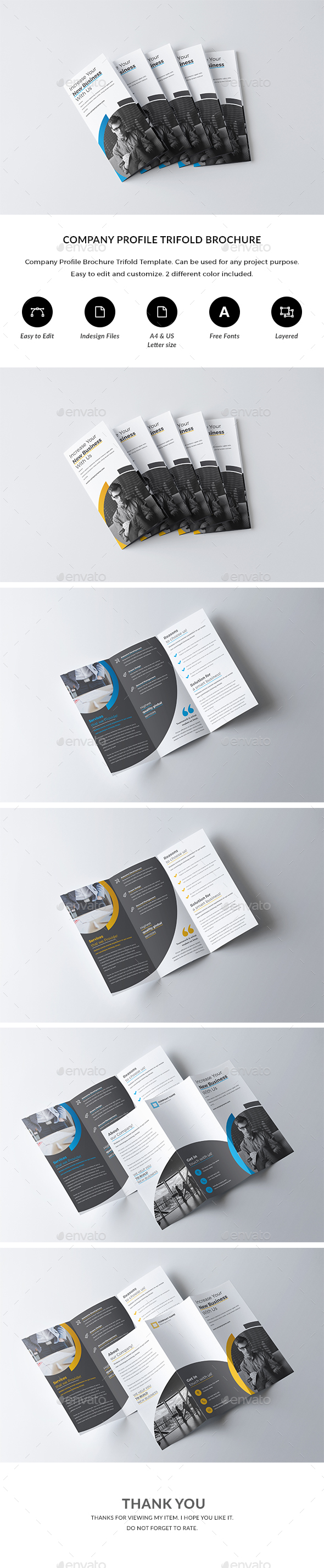Trifold Brochure Template By Nashoaib Graphicriver