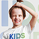 Kids Boy T-Shirt Mockups. Part 1 - GraphicRiver Item for Sale