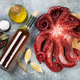 Raw octopus cooking - PhotoDune Item for Sale