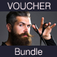 Hairdresser Gift Voucher Bundle - GraphicRiver Item for Sale
