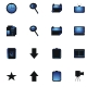 Set of 77 web icons - GraphicRiver Item for Sale