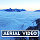 Aerial Video of a Sea of Fog in Switzerland - VideoHive Item for Sale