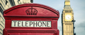 iconic british old red telephone box - PhotoDune Item for Sale