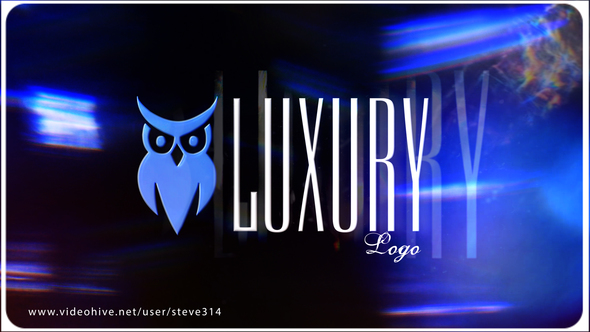 4k AE luxury Logo project