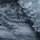 Frozen Mountain Stream. Under the Ice Build Up Running Mountain Stream . - VideoHive Item for Sale